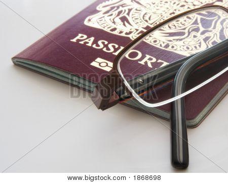 Passport And Glasses