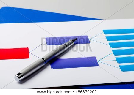 Writing utensil writing instrument pen nib close up graph chart parker
