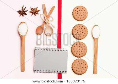 Cookies, Copybook And Coconut Shavings