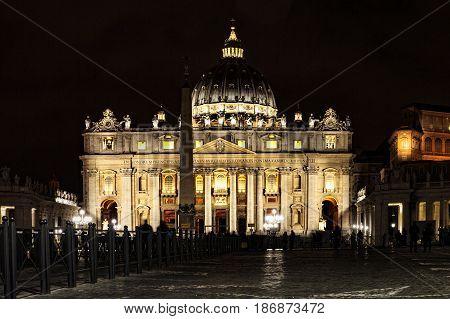Chiesa di San Pietro in Roma Italia