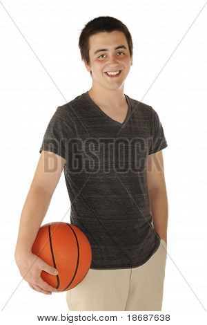 Casual Basketball Player