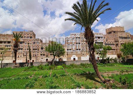 Yemen. Old Town Of Sanaa