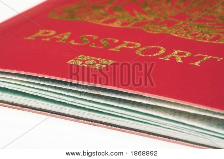 Passport Close Up