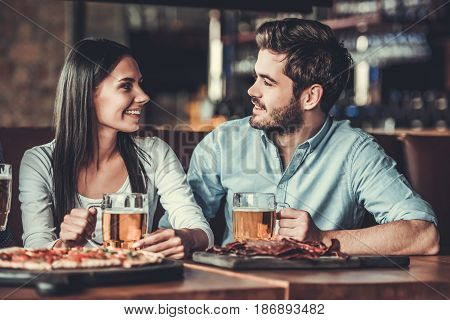 People At Pub