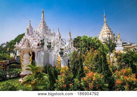 Kyauk Taw Gyipagoda in Mandalay. Myanmar. (Burma).