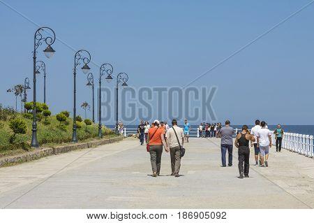Casino Seafront Promenade, Constanta, Romania