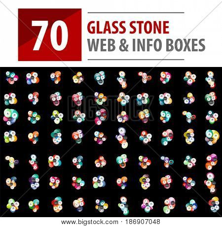 Mega collection of glass stone templates