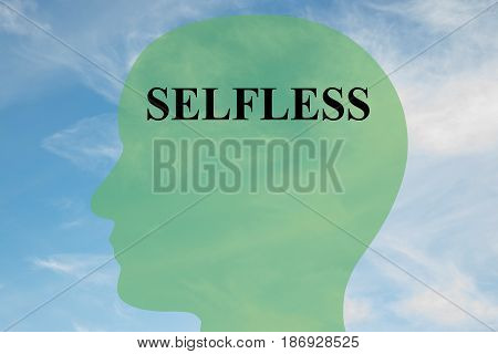 Selfless - Personality Concept