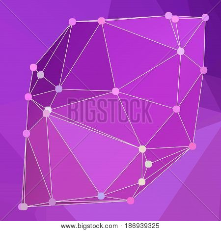 Modern Abstract Background Triangles 3D Effect Glowing Light104