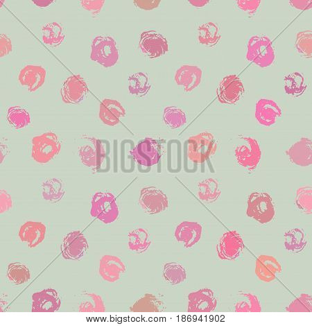 colorful seamless handrawn brush strokes pattern, editable background color
