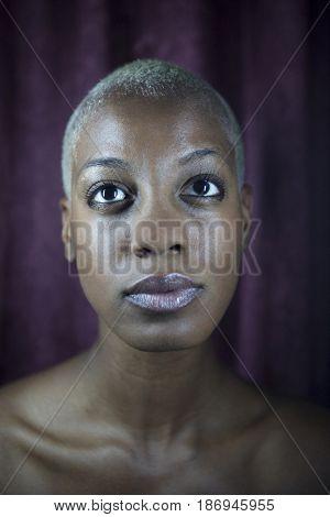 Serious Jamaican woman