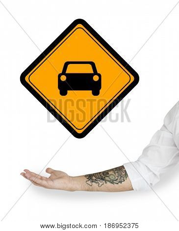 Car Vehicle Transportation Sign Symbol