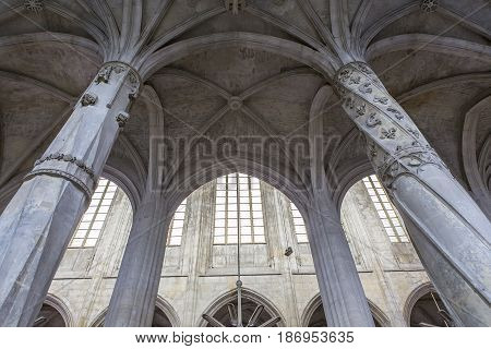St Gervais St Protais Cathedral, Givors, Oise, France