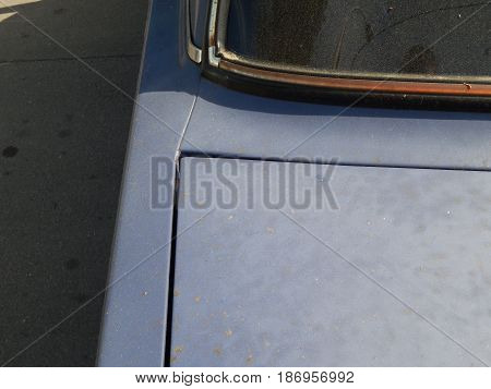 Automobile body and spare parts for car