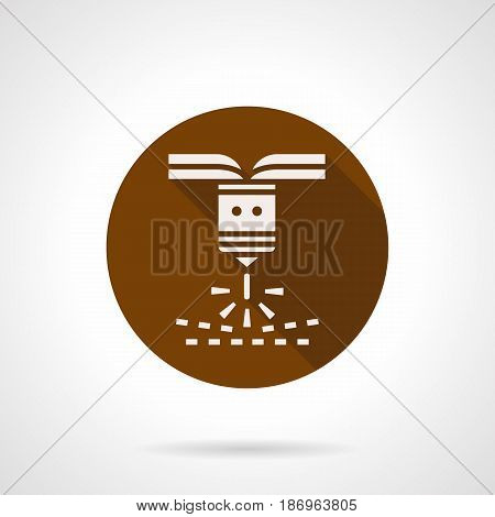 Abstract White Silhouette Symbol Vector Photo Bigstock