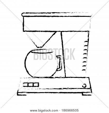 coffee machine isolated icon vector illustration design