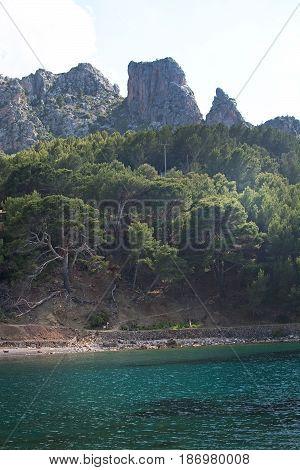 Landscape Cala Tuent Mallorca