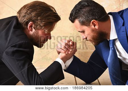 Managers Arm Wrestling
