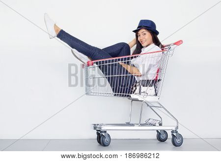 Fashionist Teen Girl Have Funny