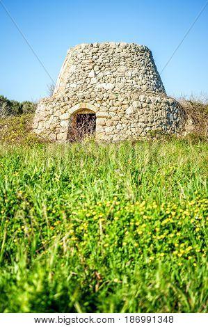 Old Trulli In Puglia, Italy, Europe