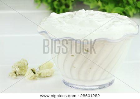 Bowl Of Salad Dressing