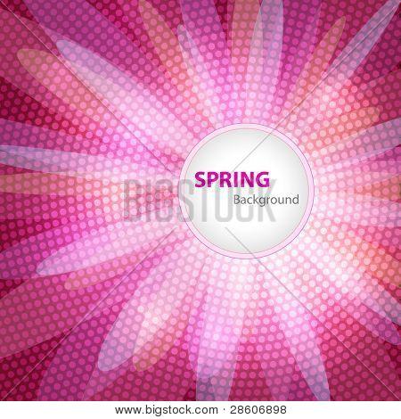 Bahar arka plan, metin için yer ile