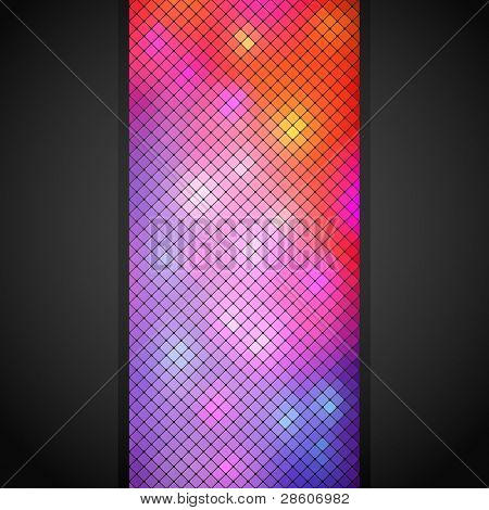 Abstract background made of mosaic pattern
