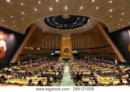 Petro Poroshenko At The Un General Assembly In New York