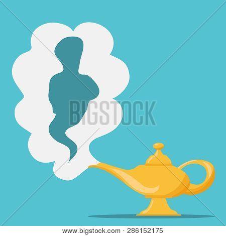 Aladdins Magic Lamp  Vector & Photo (Free Trial) | Bigstock