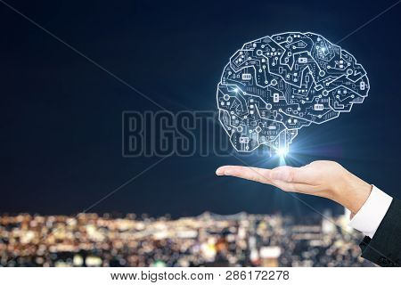 Artificial Intelligence And Innovate Concept