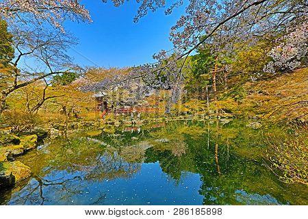 April 2014 The Zen Garden At Daigoji Temple
