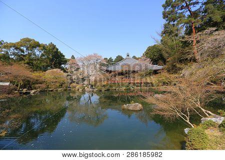 The Zen Garden At Daigoji Temple At 2014