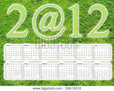 Grass 2012 Kalender