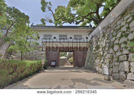 The Gate At Okayama Castle Entrance, Japan