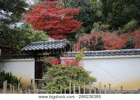 A Ishibe Alley At Higashiyama Ku Area