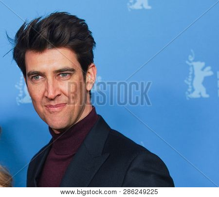Guy Nattiv poses at the 'Skin' photocall during the 69th Berlinale  Festival Berlin at Zoo Palast on February 11, 2019 in Berlin, Germany.