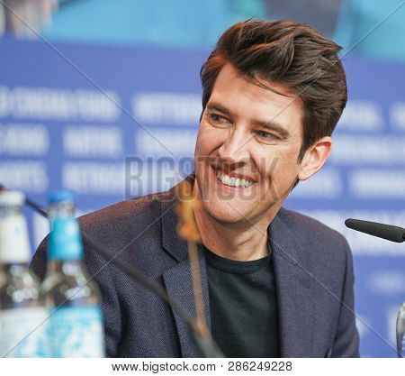 Guy Nattiv attends the 'Skin' Press Conference during the 69th Berlinale International Film Festival Berlin at Grand Hyatt Hotel on February 11, 2019 in Berlin, Germany.