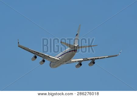Russian Government Airplane In The Sky