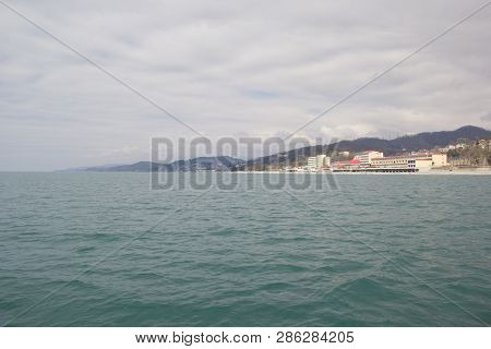 Loo, Krasnodar Krai, Russia- March 24, 2017: Resorts And Holiday Homes On The Black Sea In The Vicin