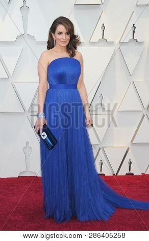Tina Fey at the 91st Annual Academy Awards held at the Hollywood and Highland in Los Angeles, USA on February 24, 2019.