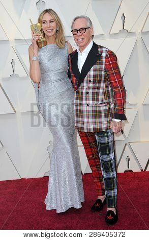 Dee Ocleppo and Tommy Hilfiger at the 91st Annual Academy Awards held at the Hollywood and Highland in Los Angeles, USA on February 24, 2019.