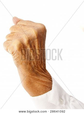The Fist Of An Old Woman