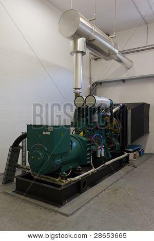 Backup Diesel Generator