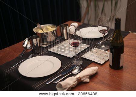 Dinnertime For Two