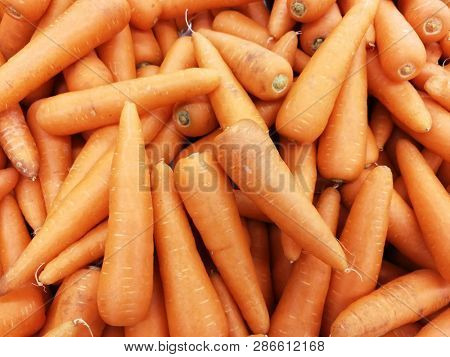 Fresh Carrot background