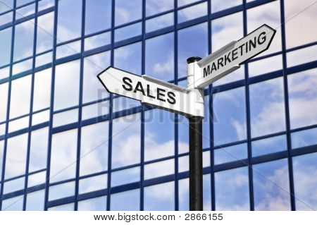 Sales & marketing Business Wegweiser