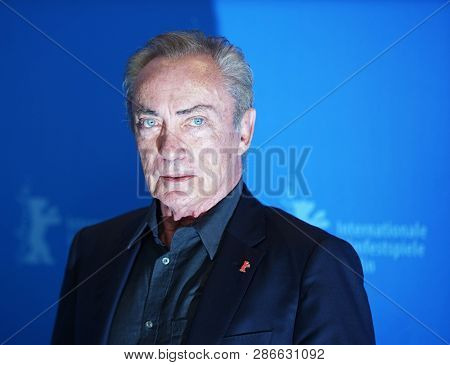 Udo Kier attends the 'La Fiera Y La Fiesta' photocall during the 69th Berlinale Festival Berlin at Grand Hyatt Hotel on February 13, 2019 in Berlin, Germany.