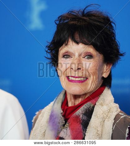 Geraldine Chaplin attends the 'La Fiera Y La Fiesta' (Holy Beasts) photocall during the 69th Berlinale  Festival Berlin at Grand Hyatt Hotel on February 13, 2019 in Berlin, Germany.