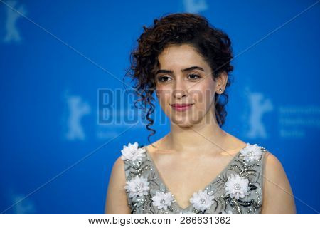 Sanya Malhotra attends the 'Photograph' photocall during the 69th Berlinale Festival Berlin at Grand Hyatt Hotel on February 13, 2019 in Berlin, Germany.