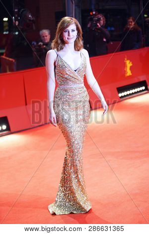 Natalia de Molina attends the premiere for the screening of the Netflix film 'Elisa Y Marcela' during the 69th Berlinale Festival at   Berlinale Palace on February 13, 2019 in Berlin, Germany.